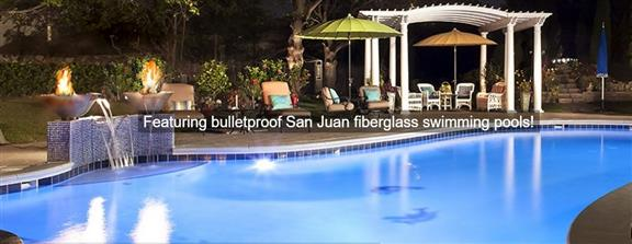 San Juan Pools - Dream Pools fiberglass swimming pools