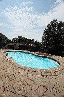 Mirage Fiberglass Pool in Mozelle, KY