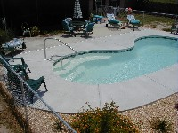 Seaside Fiberglass Pool in Summit Station, PA